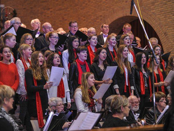 Een mooi kerstconcert 2015 in onze kerk